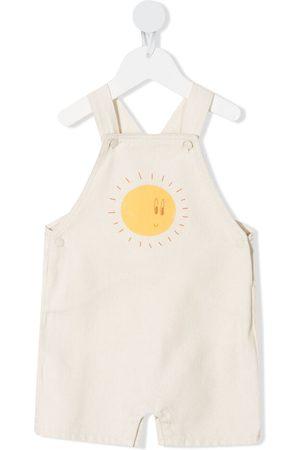 KNOT Sun cotton jumpsuit - Neutrals