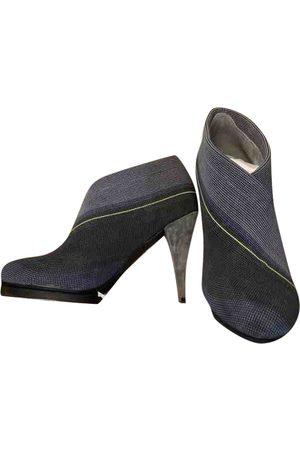united nude Grey Suede Heels