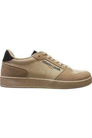 Roberto Cavalli Leather low trainers