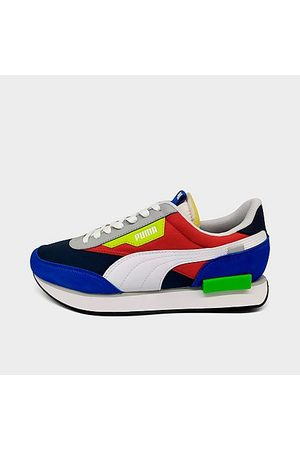 PUMA Men Casual Shoes - Men's Future Rider Play On Casual Shoes Size 7.0 Leather/Suede
