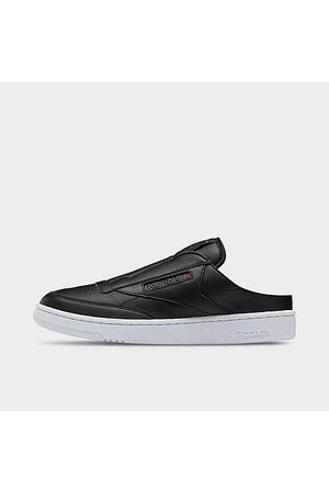 Reebok Men's Club C Laceless Mule Casual Shoes in /Core Size 7.5 Leather
