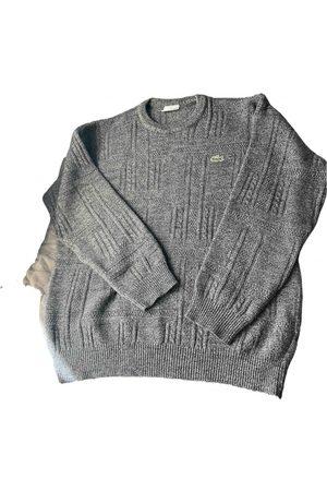 Lacoste Men Sweatshirts - Grey Wool Knitwear & Sweatshirts