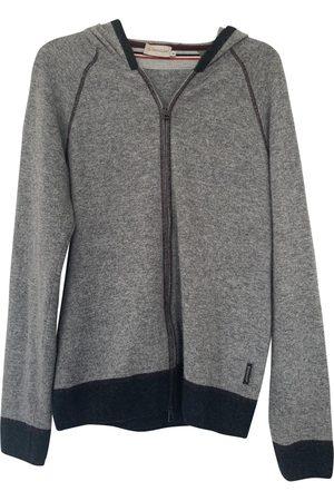 Moncler Grey Cashmere Knitwear & Sweatshirts