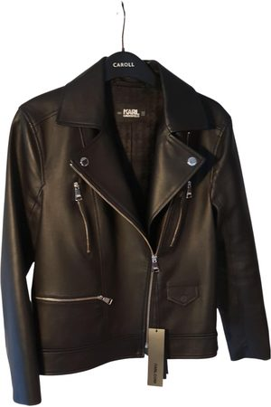 Karl Lagerfeld Leather Leather Jackets
