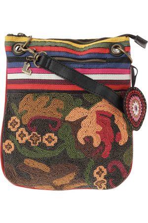 Desigual Multicolour Velvet Handbags