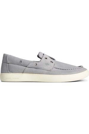 Sperry Top-Sider Men's Sperry Outer Banks 2-Eye Canvas Boat Shoe Grey, Size 7.5M