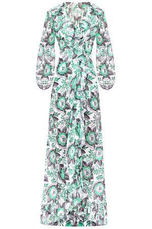 The Vampire's Wife Women Printed Dresses - The Devastator Poppy-print Cotton Maxi Dress - Womens