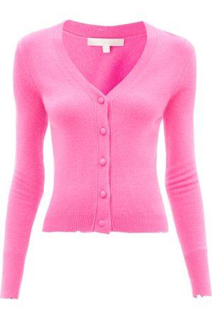 LOVESHACKFANCY Prescott Distressed Wool-blend Cardigan - Womens