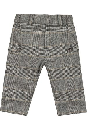Tartine Et Chocolat Checked wool-blend trousers (6-12 months)