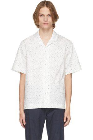 Paul Smith White Music Note Short Sleeve Shirt