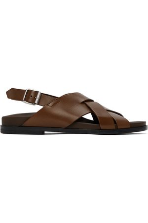 Paul Smith Brown Chandler Sandals