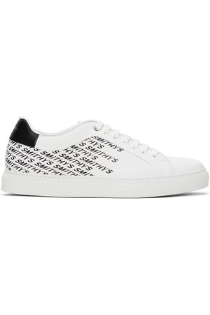 Paul Smith White Smithy's Basso Sneakers