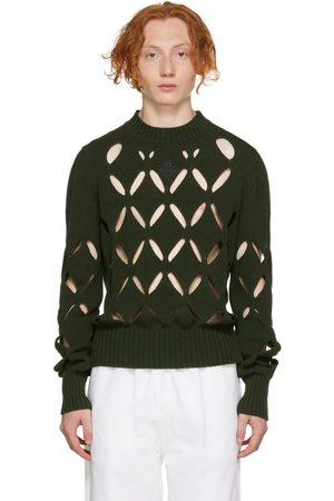 Stefan Cooke Men Sweatshirts - Diamond Slashed Sweater