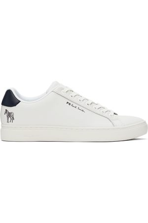 Paul Smith White Zebra Rex Low Sneakers