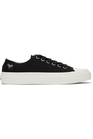 Paul Smith Black Zebra Kinsey Low Sneakers