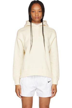 Nike Women Sports Hoodies - Off-White Fleece Sportswear Hoodie