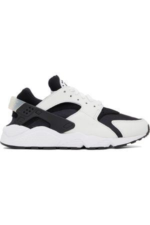 Nike Black & White Air Huarache Sneakers