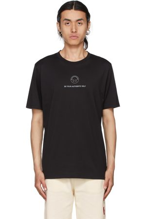 HUGO BOSS Black Smiley Deppelin T-Shirt