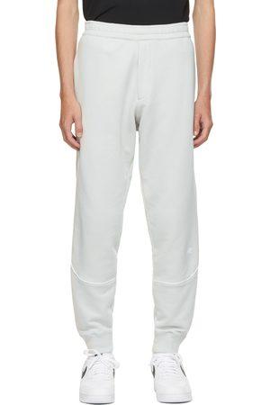 Helmut Lang Grey Piped Sweatpants