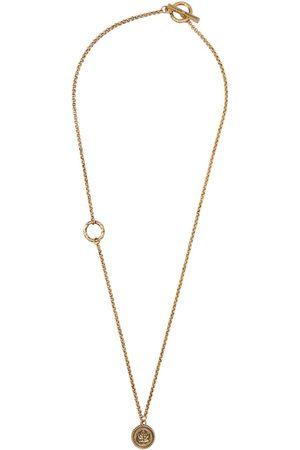 Dsquared2 Gold Leaf Necklace