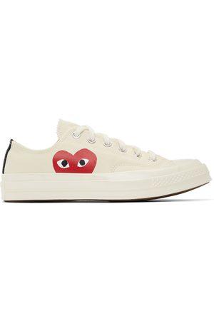 Comme des Garçons Off-White Converse Edition Half Heart Chuck 70 Low Sneakers