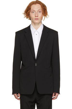 Givenchy Men Blazers - Black Wool Evening Blazer