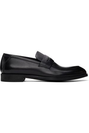 Ermenegildo Zegna Black Siena Flex Loafers