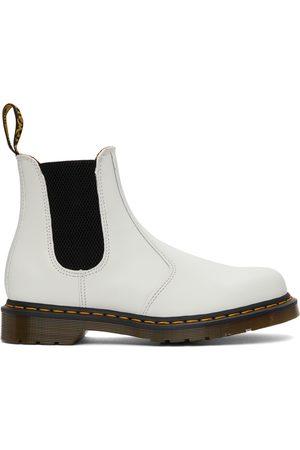 Dr. Martens White 2967 Chelsea Boots