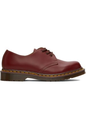 Dr. Martens Red 'Made In England' 1461 Vintage Oxford Shoes