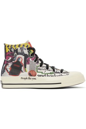 Converse Multicolor Beat The World Chuck 70 High Sneakers