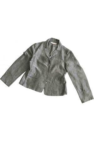 Max Mara Grey Linen Jackets