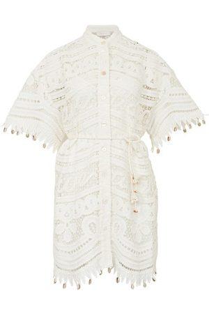ZIMMERMANN Shelly shirt mini dress