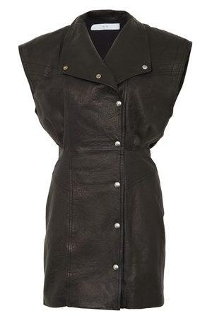 IRO Anata leather dress