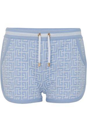 Balmain Monogram shorts