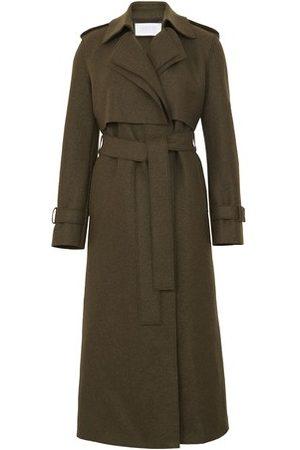 Harris Wharf London Long trench coat