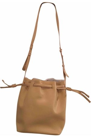 HARMONT&BLAINE Ecru Leather Handbags