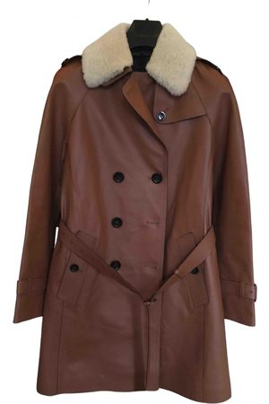 Coach Leather Trench Coats