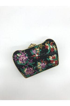 Judith Leiber Multicolour Glitter Clutch Bags