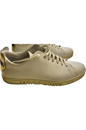 Moschino Leather Trainers