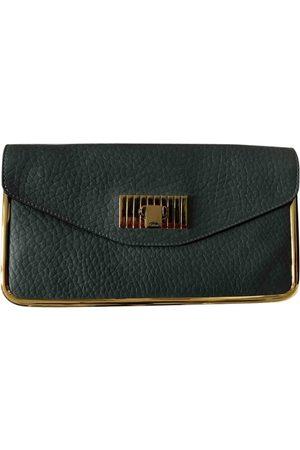 Chloé Grey Leather Clutch Bags