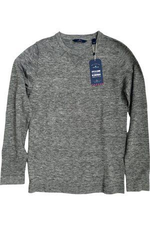 TOM TAILOR Grey Cotton Knitwear & Sweatshirts