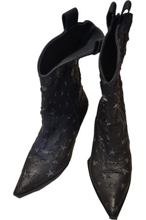 GAS Leather Ankle Boots