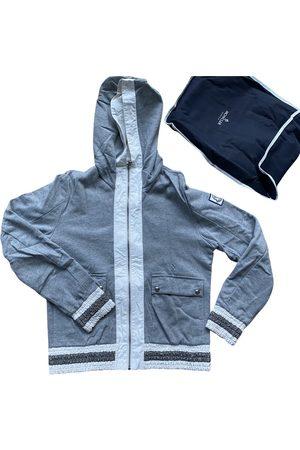 Moncler Grey Cotton Knitwear & Sweatshirts