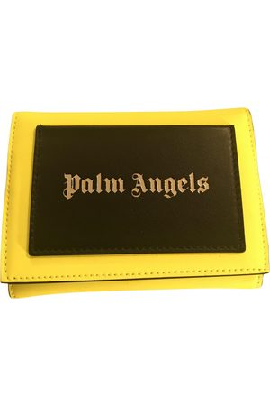 Palm Angels Leather Small Bags\, Wallets & Cases