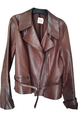Hermès Camel Leather Leather Jackets