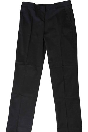Moncler Anthracite Wool Trousers