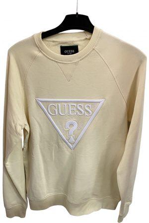 Guess Ecru Cotton Knitwear & Sweatshirt