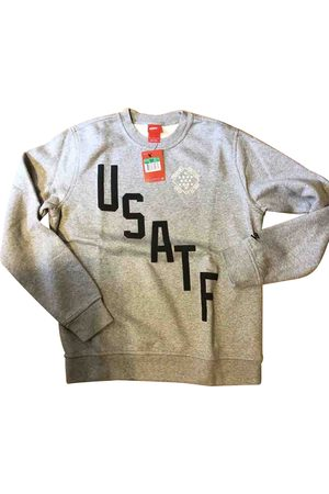 Nike Grey Cotton Knitwear & Sweatshirts
