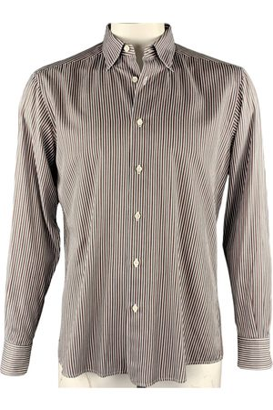 Ermenegildo Zegna Men T-shirts - Multicolour Cotton T-shirt