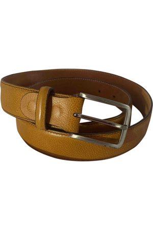 Fratelli Rossetti Camel Leather Belts